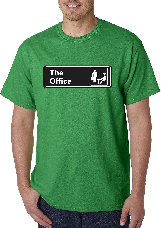 1406d418a2ec New Way 1155 1155 1155 - Unisex T-Shirt The Office TV Show Desk Logo ...