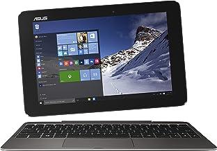 ASUS Transformer Book T100HA-C4-GR 10.1-Inch 2 in 1 Touchscreen Laptop (Cherry Trail Quad-Core Z8500 Processor, 4GB RAM, 6...