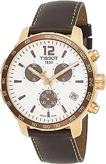 Tissot Men's Quartz Stainless Steel Watch,Brown T095.417.36.1767.39