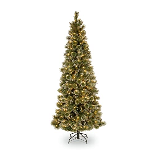 Prelit Christmas Slim Christmas Trees Amazon Com