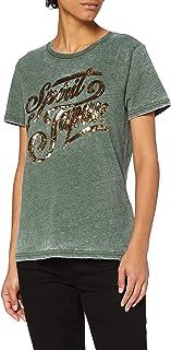 Superdry Off Piste Sparkle tee Camiseta para Mujer