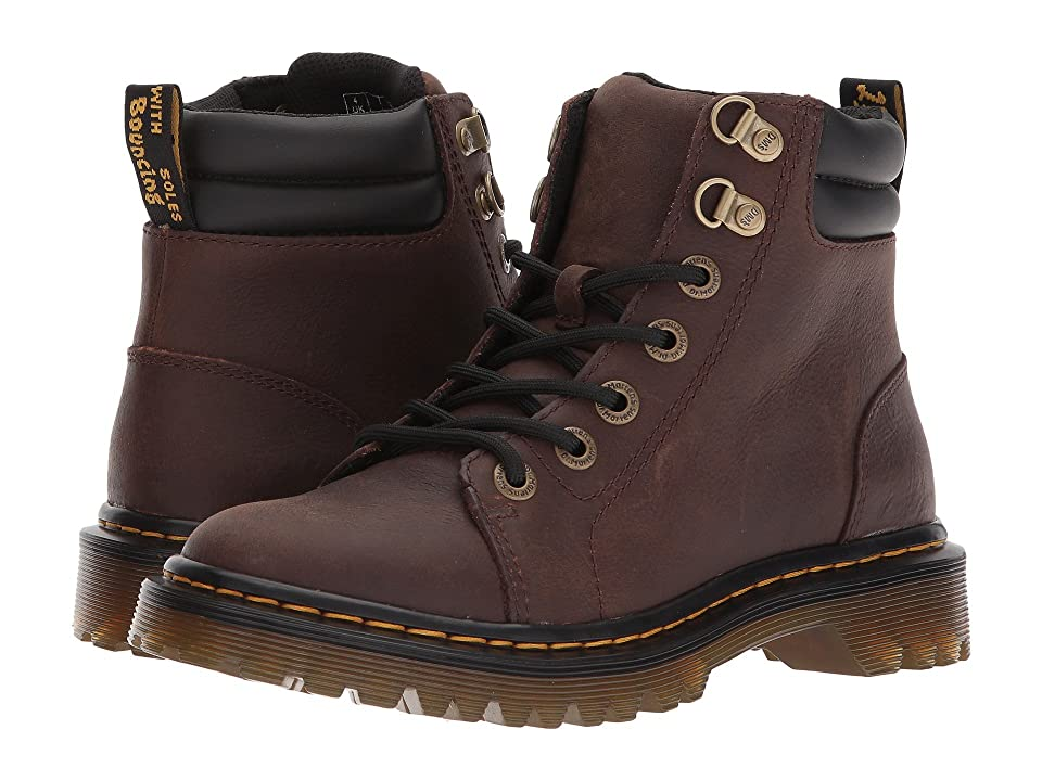 Dr. Martens Faora (Dark Brown Newark) Shoes
