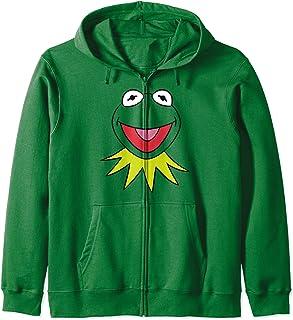 Disney The Muppets Kermit Big Face Sweat à Capuche