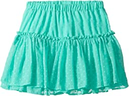 Clipped Dot Skirt (Big Kids)
