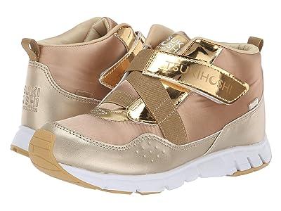 Tsukihoshi Kids Tokyo (Little Kid/Big Kid) (Gold/Honey) Girls Shoes