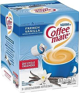 COFFEE MATE French Vanilla Liquid Coffee Creamer, 24 Count
