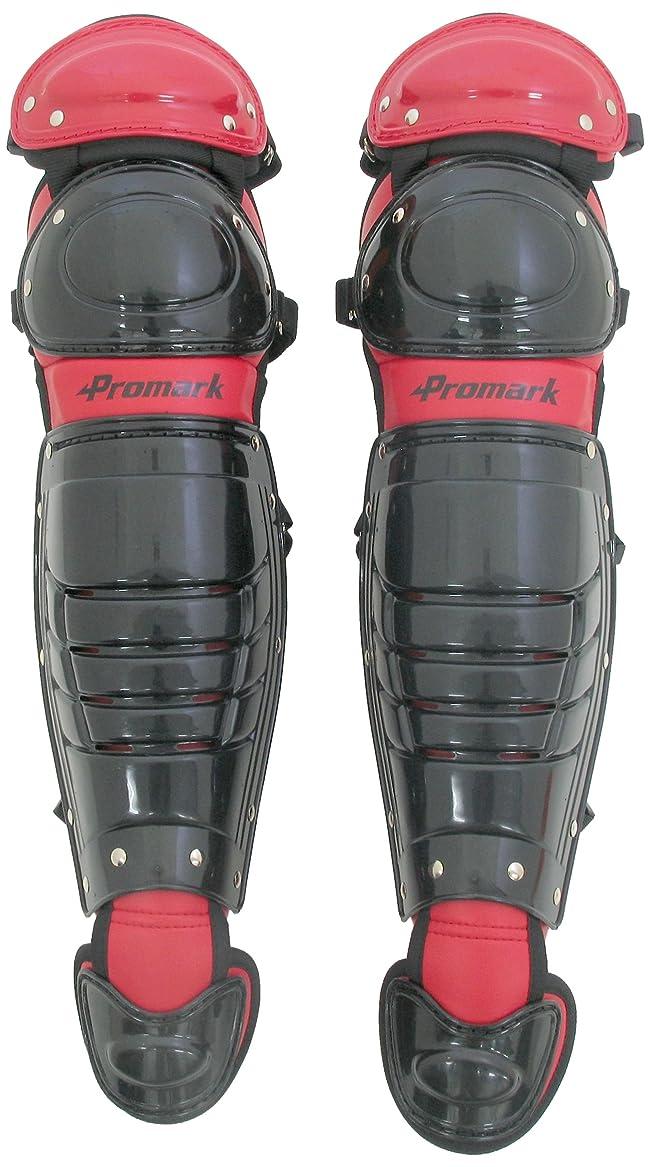 ジャンクション人類グッゲンハイム美術館サクライ貿易(SAKURAI) Promark(プロマーク) 野球 軟式 キャッチャー レガース JSBB公認 一般用 ブラック RGT-65BK/RD