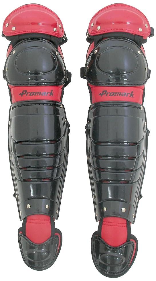 メタリックジューススケッチサクライ貿易(SAKURAI) Promark(プロマーク) 野球 軟式 キャッチャー レガース JSBB公認 一般用 ブラック RGT-65BK/RD