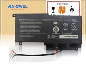 Angwel 14.4V 43Wh PA5107U-1BRS Replacement Battery for Toshiba L45D L50 L55 P55 L55t P50 Series Laptop P55-a5312 P55T-A5116 S50D-A L50-A S50T-A116 S55-A5275 L55t-A5290 P000573230 -- 1 Year Warranty