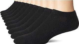 Hanes womens Ecosmart Comfort Toe Seam No Show Socks, 10-pair Pack