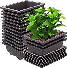 Large Capacity Nursery Pots Tray Durable Nursery Grower for Gardening Bonsai