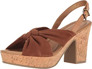 Kenneth Cole REACTION Women's Tole Booth Heeled Sandal Blue