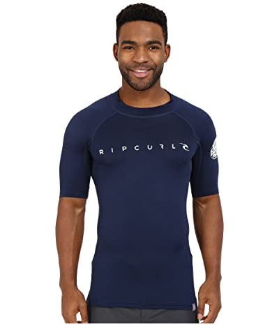 Rip Curl Dawn Patrol UV Tee Short Sleeve (Navy) Men