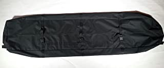 Gecobi Step and Repeat LA 大号,黑色,重型设备布袋,运动或野营设备,地毯,横幅,商场展示配件