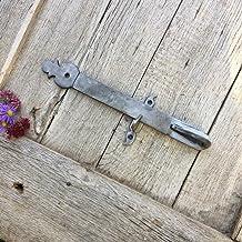 Antikas - Antieke vergrendeling deur hefboom tuinpoort deurklink opname grendel met val