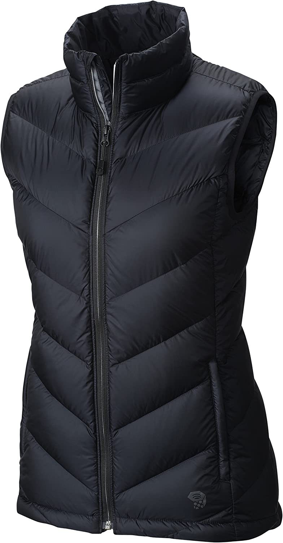 (Large, Black)  MOUNTAIN HARDWEAR Women's Ratio Down Vest