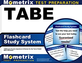 TABE Flashcard Study System: TABE Exam Practice Questions & Review for the Test of Adult Basic Education (Cards)