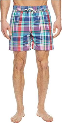 Plaid Traveler Swim Trunk