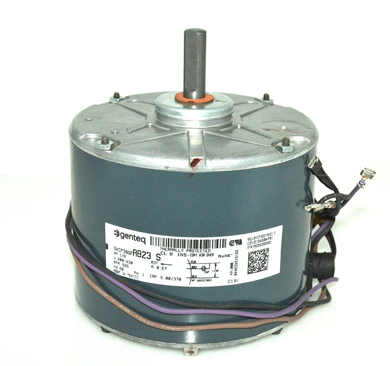 trane motors amazon com ge ecm motor wiring diagram trane condenser fan motor 1 8 hp d154504p01 mot12215