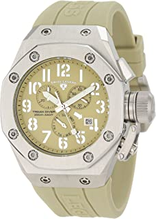 Swiss Legend Men's 10541-019 Trimix Diver Chronograph Olive Green Dial Watch