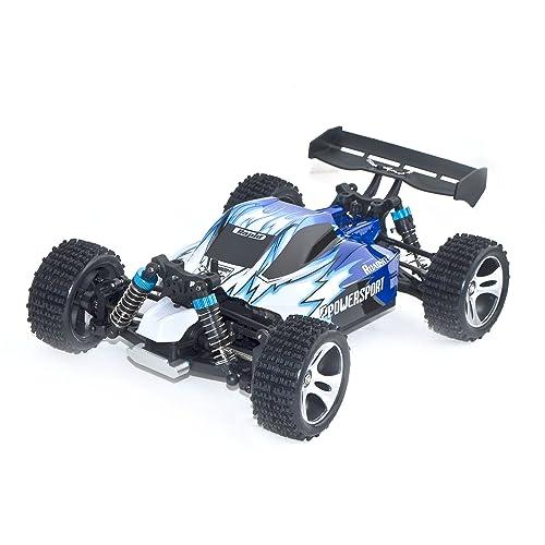 ALEKO 4WD Off-Road Car 2.4G Toy (1:18 Scale),
