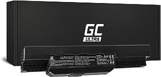 Green Cell® ULTRA Serie A32-K53 A41-K53 Batería para Asus A53 A53E A53S A53U K53B K53SC K53SD K53SM K53T K53TA K53TK K53Z X53E X53T X54HY Ordenador (Las Celdas Originales Panasonic, 6800mAh, Negro)
