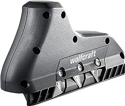 Wolfcraft 4009000 Strug do Krawędzi Płyty, Czarny,