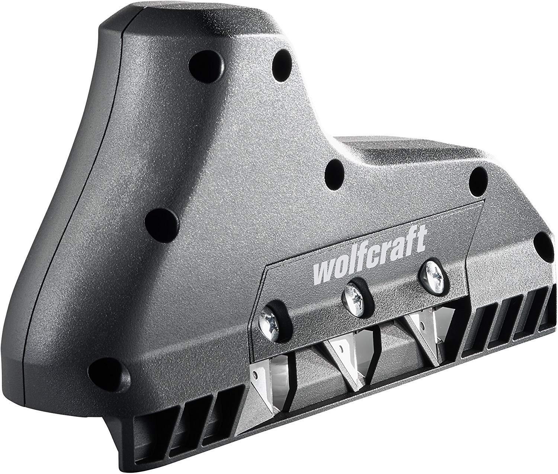 plata Wolfcraft 4008000 Gu/ía angular y de corte paralelo