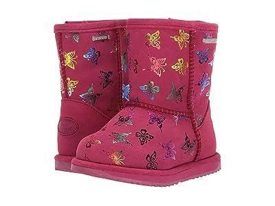 EMU Australia Kids Waterproof Flutter Brumby (Toddler/Little Kid/Big Kid) (Berry) Girls Shoes