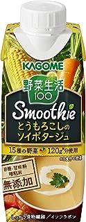 カゴメ 野菜生活100Smoothieとうもろこしのソイポタージュ 250g ×12本