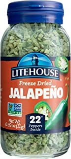 Litehouse Freeze Dried Green Jalapeno Herb, 0.39 Ounce