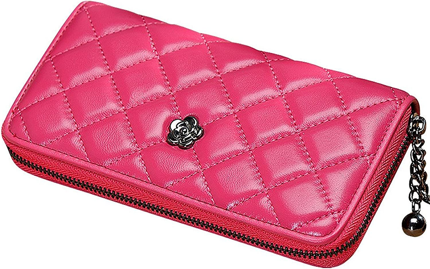 Cheryl Bull Fashion Women Elegant Soft Genuine Leather Long Wallet Purse