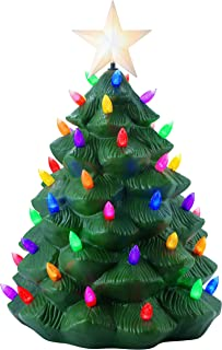 Mr. Christmas 61623 Outdoor Nostalgic Tree Holiday Decorations, One Size, Green