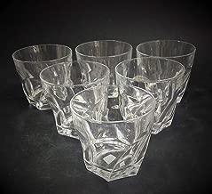 Raro Cj 6 Copos Para Whisky Cristal Frances 1244 Rrdeco (translucido)