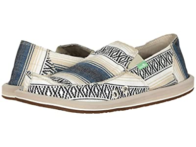 Sanuk Donny Funk (Navy Baja Blanket) Men