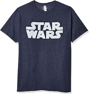 Star Wars Men's Simplest Logo Graphic Tee Shirt