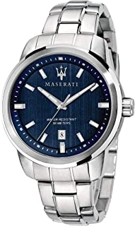 Maserati Men's Quartz Watch Analog Display and Stainless Steel Strap, R8853121004