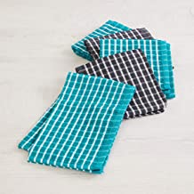 Home Centre Fervid Checked Kitchen Towels - Set of 5
