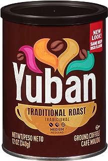Yuban Traditional Medium Roast Ground Coffee (12 oz Canister)