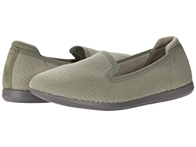 Clarks Carly Dream (Dusty Olive/Sand Knit) Women