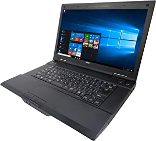 NEC ノートPC VK25/MS Office 2019/Win 10 Home/15.6型/DVD/Bluetooth/WIFI/Core i3-4100M/4GB/128GB SSD (整備済み品)