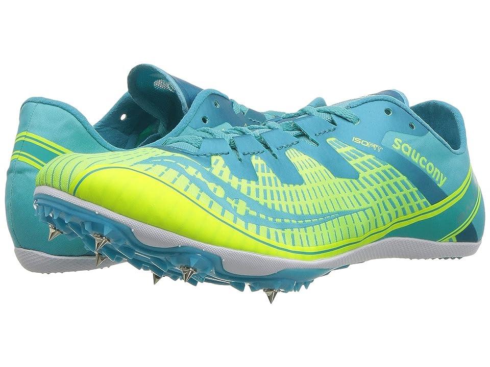 cc77ba668965 Saucony Ballista 2 (Green Blue) Women s Shoes