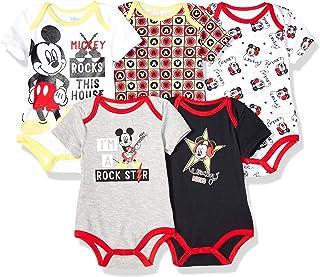 Disney - Body para bebé de Mickey (5 Unidades)