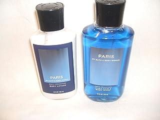 Bath and Body Works PARIS 2- in -1 Body Wash 10 fl oz, and Body Lotion 8 fl oz.