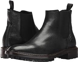 Black Deer Skin Leather