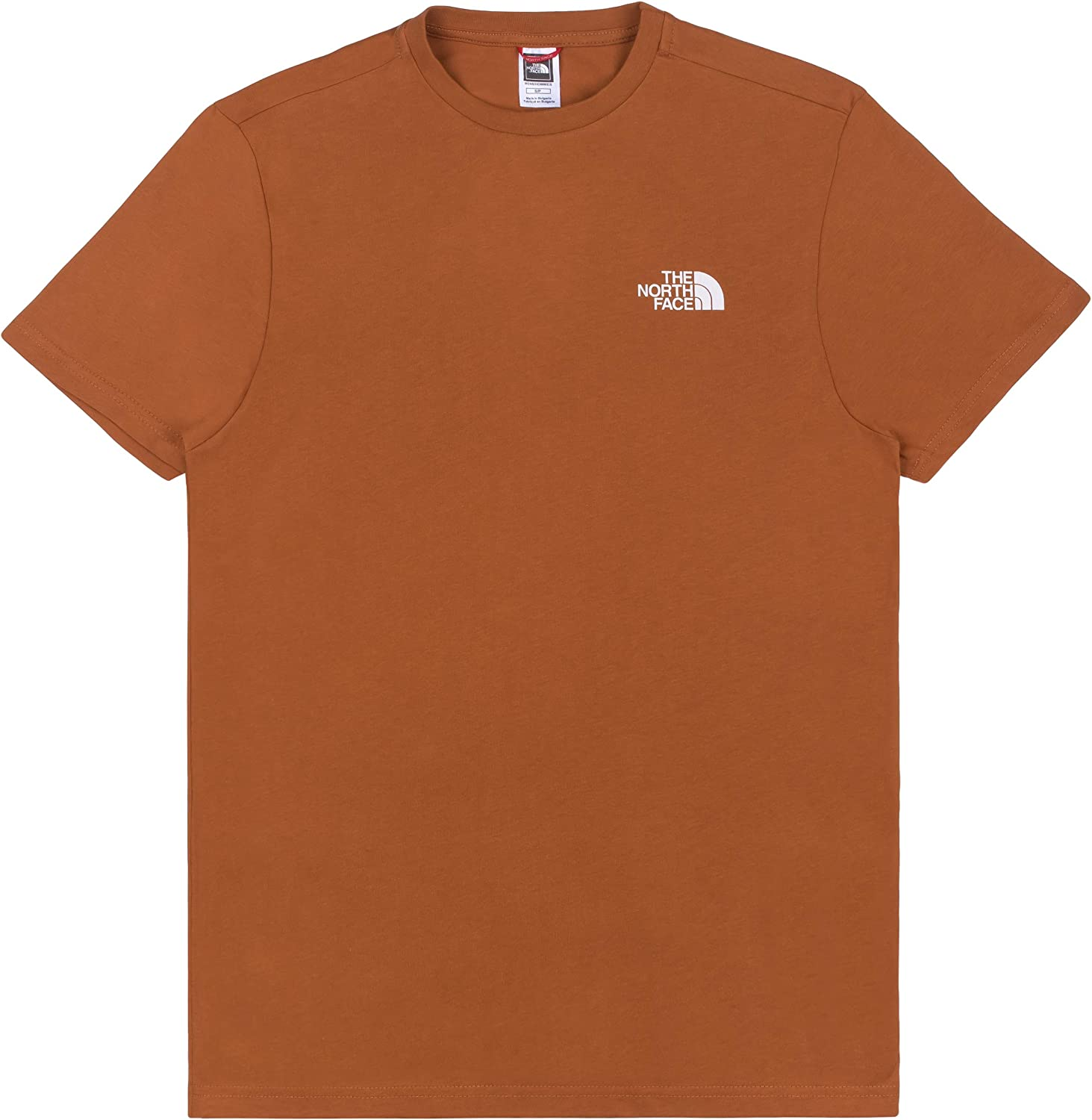 The North Face MS/S Simple Dome Te Caramel Cafe tee Hombre