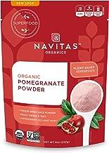 Navitas Organics Pomegranate Powder, 8 oz. Bag — Organic, Non-GMO, Freeze-Dried, Gluten-Free
