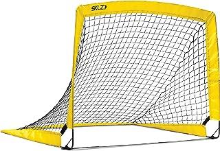 SKLZ Youth Soccer Net Black/Yellow, 4-Foot x 3-Foot
