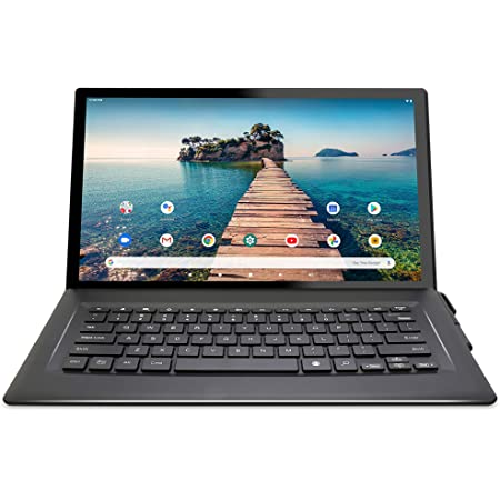 """Venturer 14"""" Luna Max [VCT9T48Q34RBM] Quad-Core 3GB RAM 64GB Storage IPS 1920 x 1080 FHD Touchscreen WiFi Bluetooth with Detachable Keyboard Android 10 Tablet"""