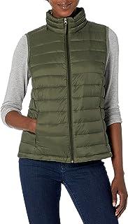 Amazon Essentials Women's Standard Lightweight Water-Resistant Packable Puffer Vest